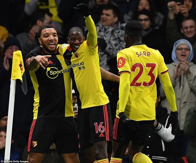 Trước khi thắng Liverpool, Watford xếp thứ 19/20 đội
