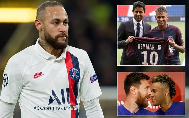 Neymar sắp rời PSG để trở lại Barca