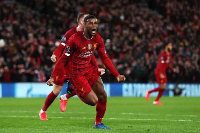 Wijnaldum mở tỉ số cho Liverpool