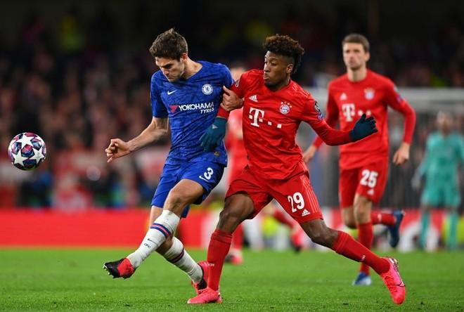 Trận lượt về vòng 1/8 Champions League giữa Bayern Munich và Chelsea bị hoãn vô thời hạn