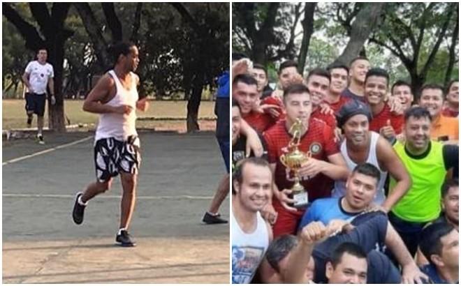 Ronaldinho trong trận chung kết và khoảnh khắc vô địch