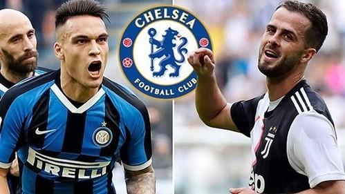 Lautaro Martinez và Miralem Pjanic là hai mục tiêu lớn của Chelsea tại Serie A