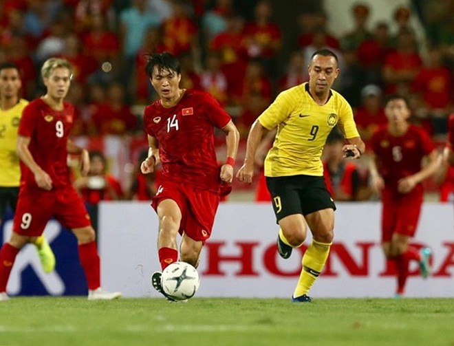 Trận Việt Nam 1-0 Malaysia ở lượt đi trên sân Mỹ Đình