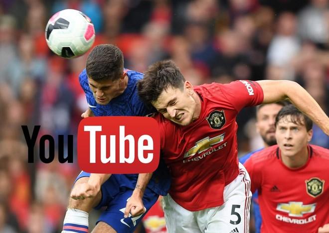 Xem miễn phí Ngoại hạng Anh trên YouTube là điều có thể xảy ra