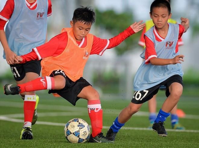 PVF liên tục tuyển sinh để tìm kiếm tài năng cho bóng đá Việt Nam