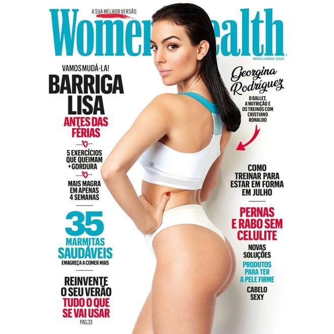 Hình ảnh đẹp hoàn hảo của Georgina Rodriguez trên bìa tạp chí