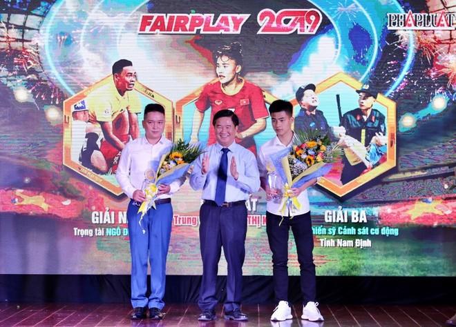 Hai chiến sĩ CSCĐ Công an tỉnh Nam Định giành giải Ba