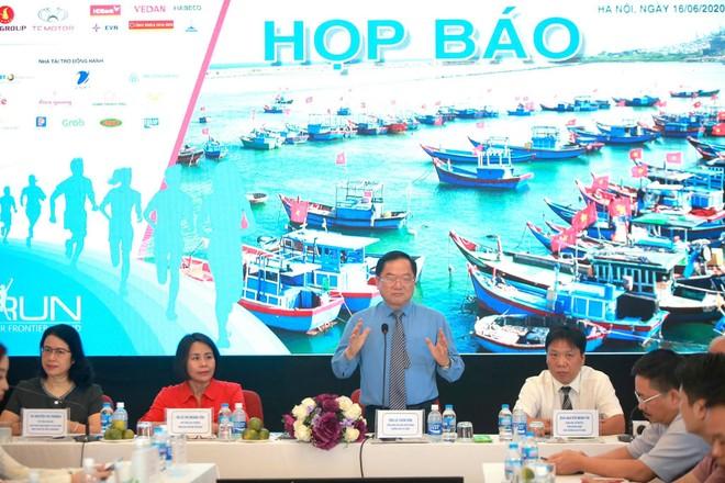 Giải Tiền Phong Marathon 2020 được tổ chức họp báo vào sáng 16-6