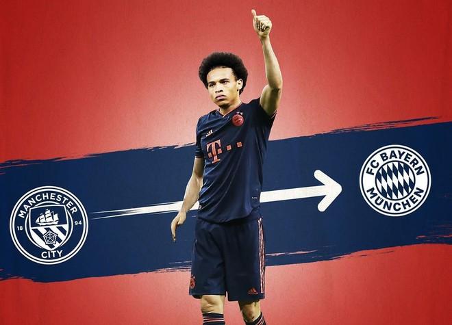 Leroy Sane đã là người của Bayern Munich