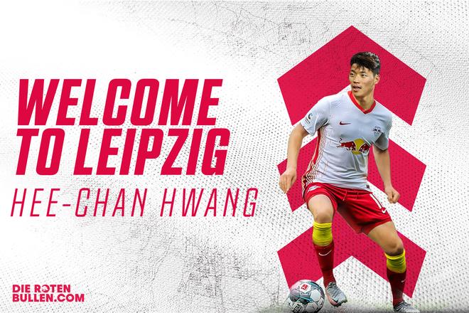 Hwang Hee-chan chính thức được RB Leipzig giới thiệu
