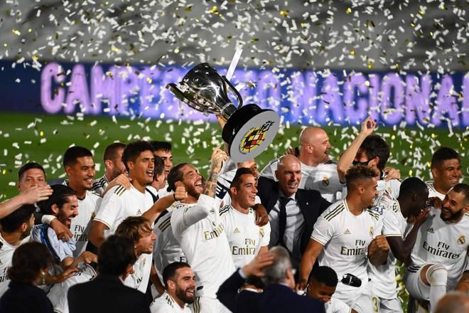 Real Madrid có chức vô địch La Liga thứ 34 trong lịch sử