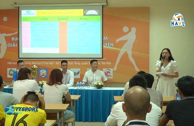 Buổi họp báo giới thiệu giải đấu