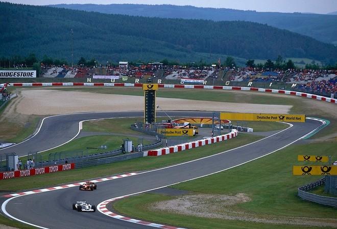 Đường đua Nürburgring (Đức) – một trong những đường đua truyền cảm hứng cho thiết kế đường đua Hà Nội