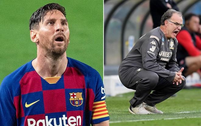 Messi đang rất muốn Barca đưa về HLV kỳ cựu Marcelo Bielsa