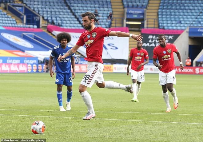 Bruno Fernandes tiếp tục đá thành công penalty cho M.U