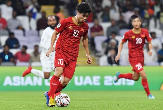 Công Phượng tại Asian Cup 2019