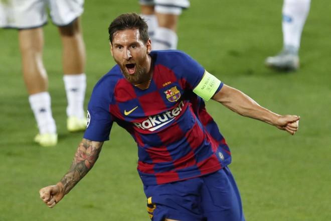 Messi chói sáng giúp Barca có mặt ở tứ kết