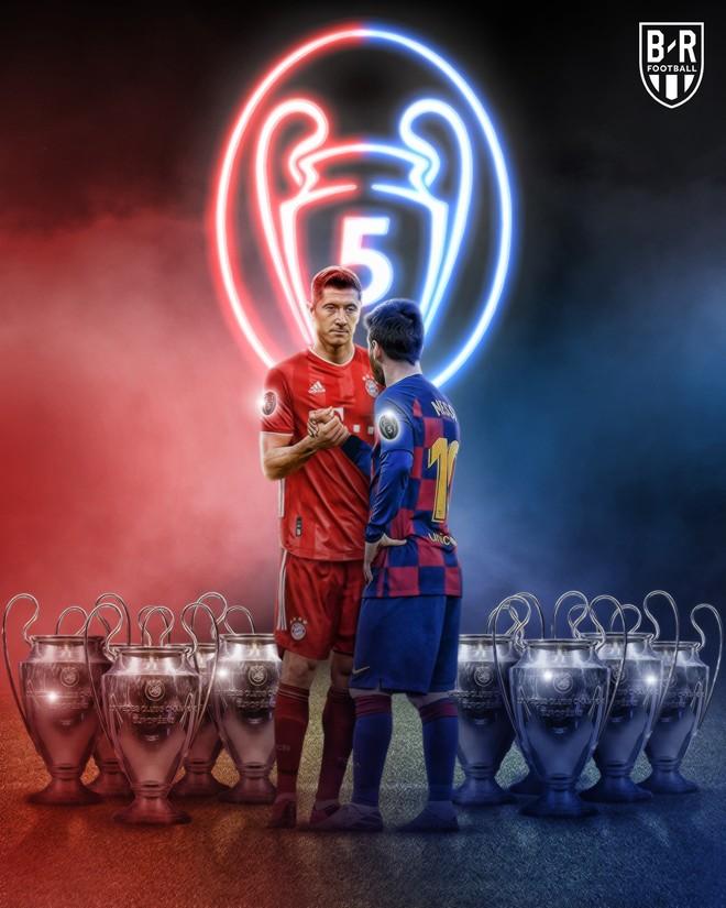 Cả Bayern Munich lẫn Barcelona đều từng 5 lần vô địch cúp C1/Champions League