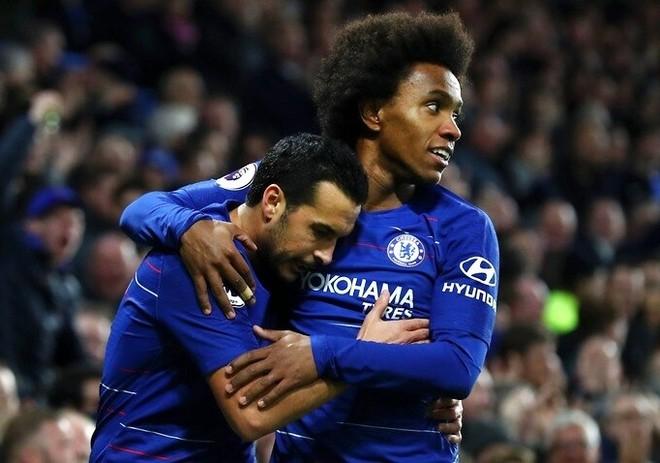 Pedro và Willian không còn chơi dưới màu áo Chelsea