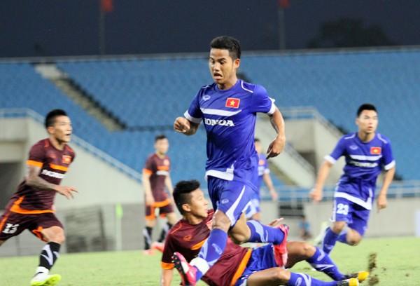 """ĐTQG 3-0 U23: Công Phượng """"im tiếng"""", Công Vinh lập cú đúp ảnh 1"""