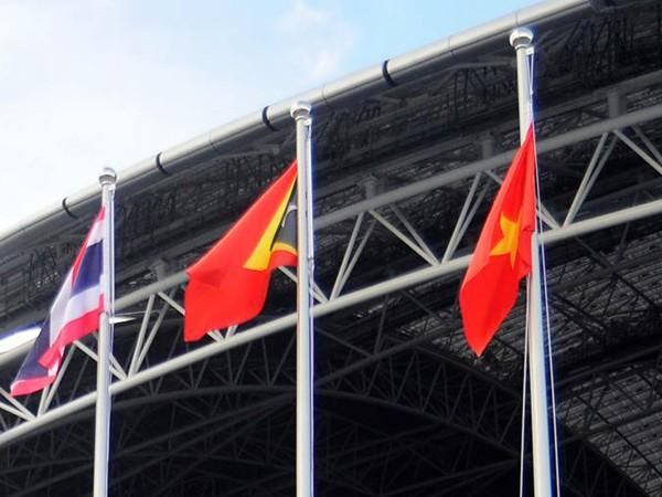 Xúc động Lễ thượng cờ Việt Nam tại SEA Games 28 ảnh 5