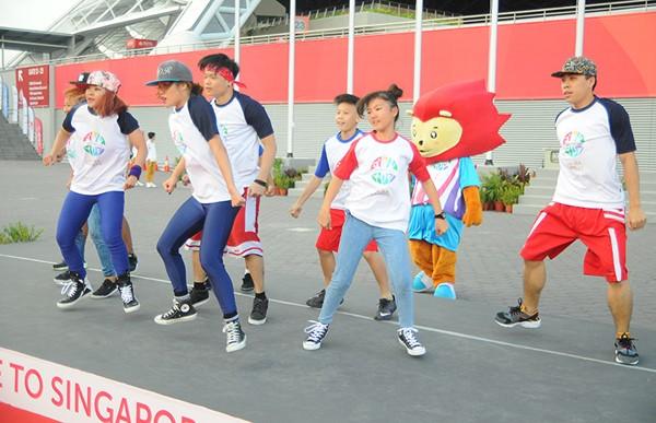 Xúc động Lễ thượng cờ Việt Nam tại SEA Games 28 ảnh 4