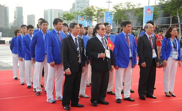 Xúc động Lễ thượng cờ Việt Nam tại SEA Games 28 ảnh 2