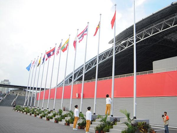 Xúc động Lễ thượng cờ Việt Nam tại SEA Games 28 ảnh 3