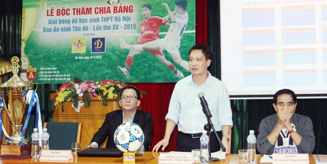 50 đội tranh tài mùa thứ XV giải bóng đá học sinh THPT Hà Nội - Báo ANTĐ ảnh 1