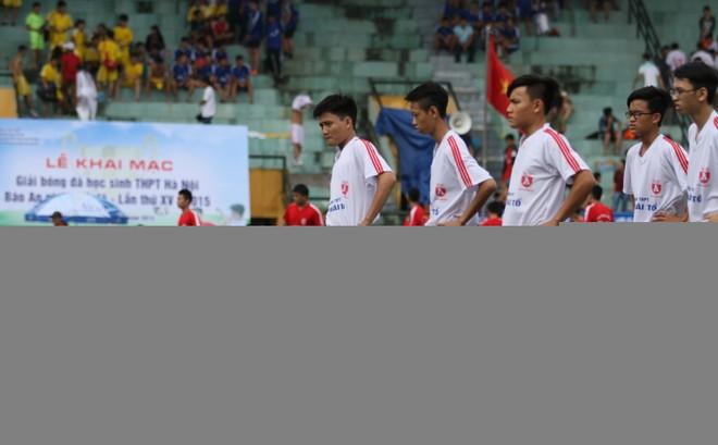 Kết quả, hình ảnh lượt trận sáng 8-11 giải bóng đá học sinh THPT Hà Nội ảnh 21