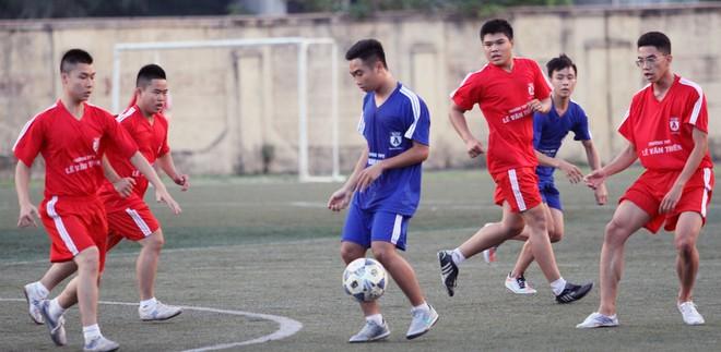 Kết quả, hình ảnh thi đấu ngày 11-11 giải bóng đá học sinh THPT Hà Nội 2015 ảnh 34