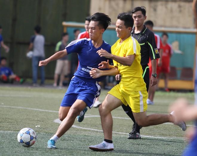 Kết quả, hình ảnh thi đấu ngày 11-11 giải bóng đá học sinh THPT Hà Nội 2015 ảnh 5