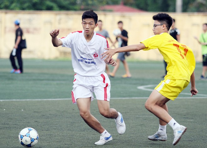 Kết quả, hình ảnh thi đấu ngày 11-11 giải bóng đá học sinh THPT Hà Nội 2015 ảnh 23