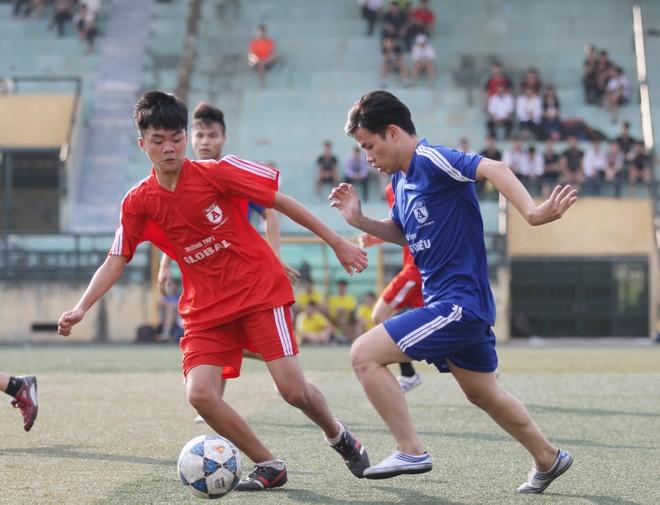 Kết quả, hình ảnh lượt trận cuối vòng bảng giải bóng đá học sinh THPT Hà Nội 2015 ảnh 14