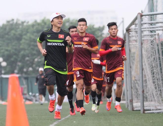 HLV Miura mang 25 tuyển thủ U23 sang Qatar dự VCK châu Á ảnh 1