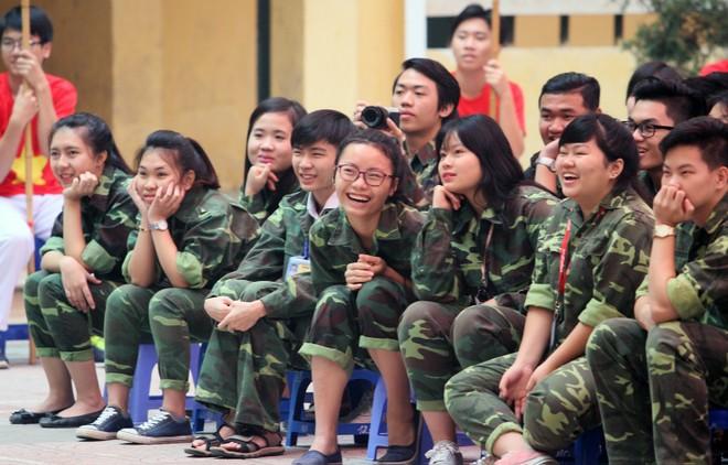Tưng bừng xuất quân dự chung kết giải bóng đá học sinh THPT Hà Nội 2015 ảnh 5
