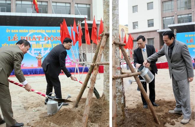 UBND quận Hai Bà Trưng phát động Tết trồng cây 2016 ảnh 2