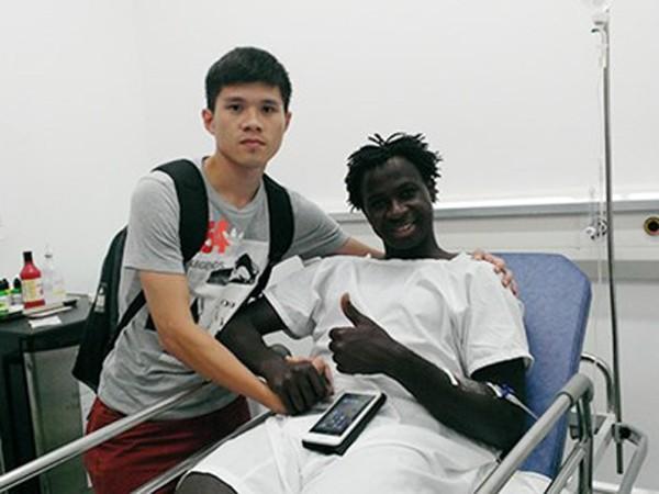 Giải Fair-play bóng đá Việt Nam 2015 thuộc về ngoại binh Abass ảnh 2