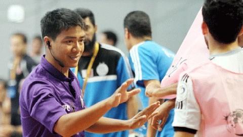 Trọng tài Futsal FIFA Trương Quốc Dũng