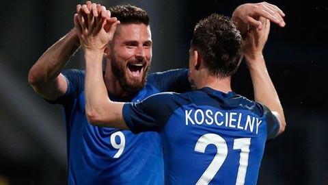 ĐT Pháp được đánh giá ứng viên sáng giá vô địch EURO 2016