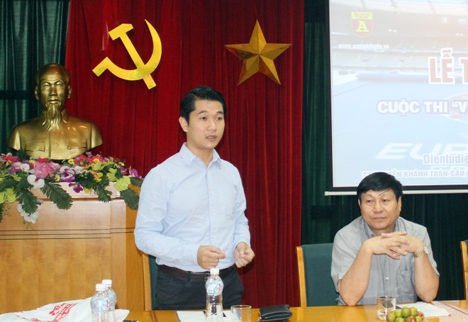 Đại diện cho các nhà tài trợ, ông Nguyễn Viết Chung – Tổng Giám đốc Công ty Casper Electric Việt Nam bày tỏ vui mừng với thành công của cuộc thi
