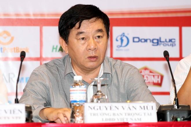 Ông Nguyễn Văn Mùi vẫn tại vị ghế Trưởng ban Trọng tài