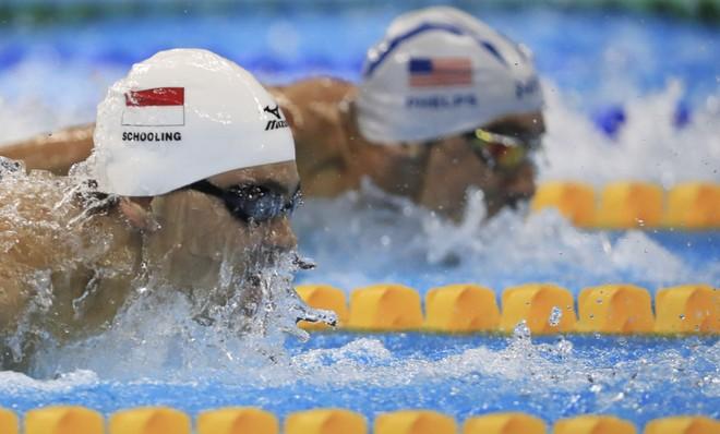 """Siêu kình ngư Michael Phelps thua VĐV đến từ """"vùng trũng"""" Đông Nam Á"""