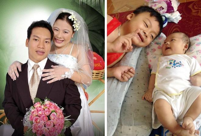 Lê Văn Công cho rằng mình là người hạnh phúc khi có người vợ biết cảm thông và 2 đứa con ngoan ngoãn, đáng yêu