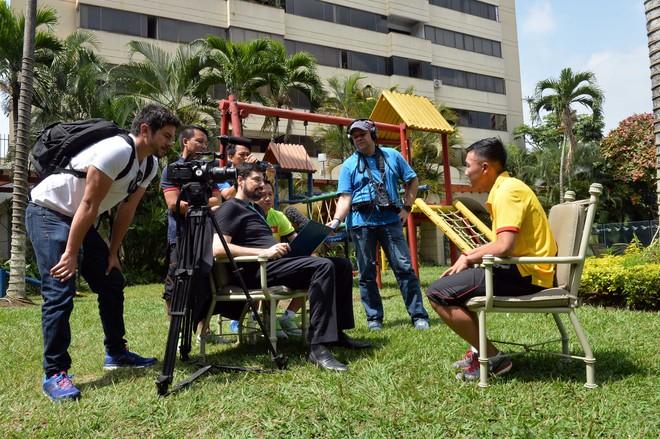 Minh Trí, Văn Vũ làm nhân vật chính trong bản tin FIFA TV