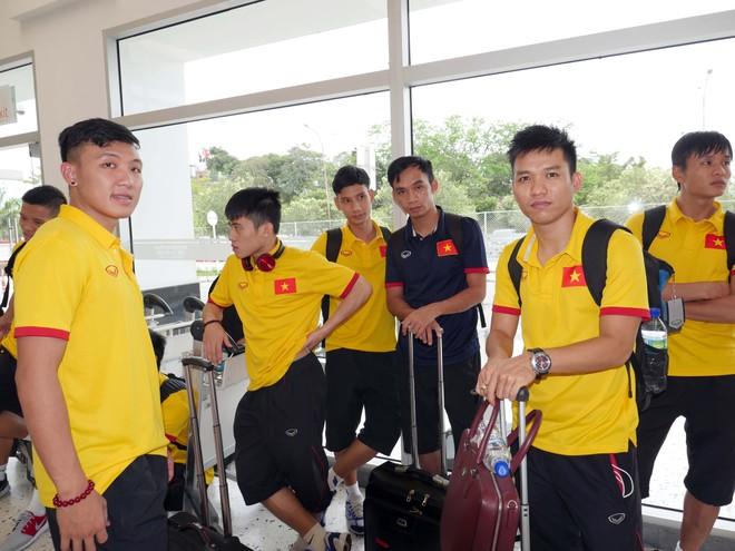 Tuyển Futsal Việt Nam đã có mặt tại Medellin, nơi tổ chức trận đấu vòng 1/8