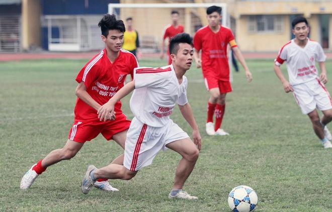 Giải là sân chơi thể thao bổ ích cho giới học sinh Thủ đô