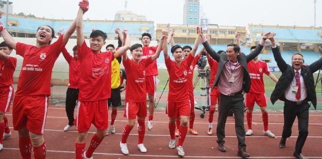 THPT Trần Quốc Tuấn đang là đương kim vô địch giải