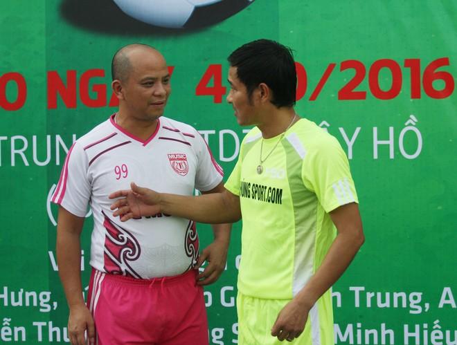 """Bằng Kiều """"đối đầu"""" Hồng Sơn trong trận đấu bóng đá từ thiện đầy ý nghĩa ảnh 5"""