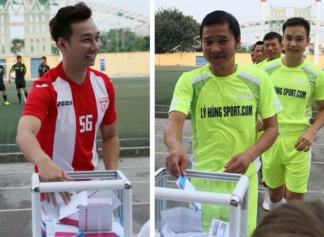 """Bằng Kiều """"đối đầu"""" Hồng Sơn trong trận đấu bóng đá từ thiện đầy ý nghĩa ảnh 13"""